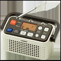 3バンドラジオ付ワイヤレス手元スピーカー